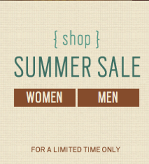 'Tis the season for summer sales! There's plenty of goodies here. Check it out online.
