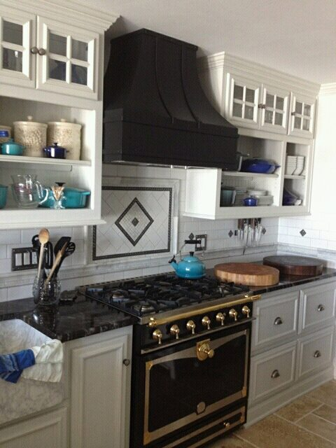 Range hood I made awhile back. All finished and installed