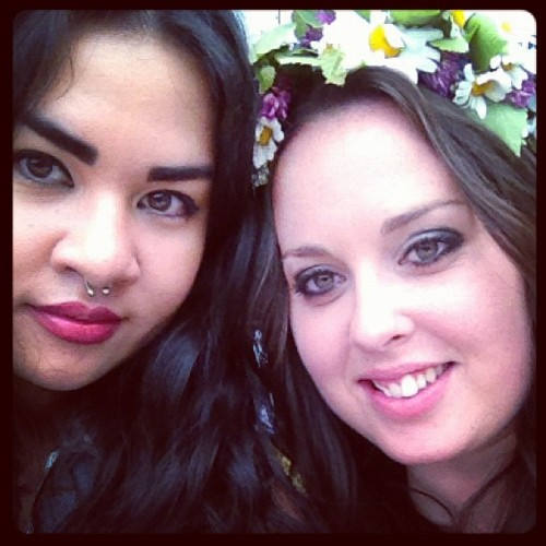 Midsommartjejer 2! #summer #party #girls  (Taken with Instagram)