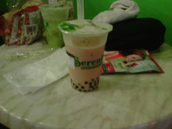 (5.17) Gave Wintermelon milk tea a try. Not bad.