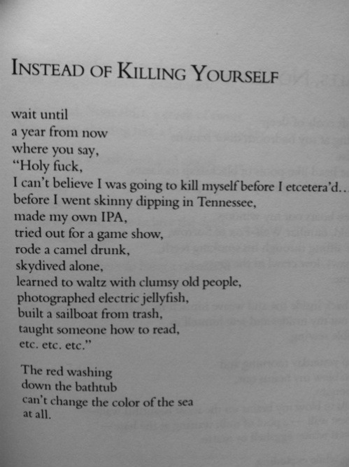 xannies:  Instead of killing yourself…