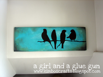 pixiedustcrafts:  Canvas print tutorial. Uses cut outs and paint. Awesome idea!!!!