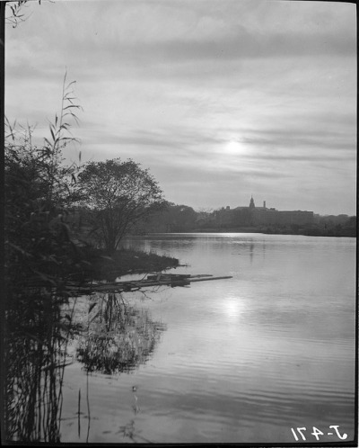 Water views, lake or pond by Boston Public Library on Flickr.