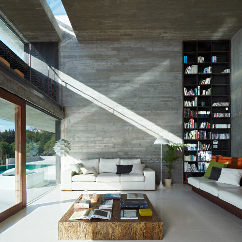 Inside Pitch's House by Iñaqui Carnicero in Madrid, Spain.