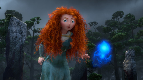 "nprfreshair:  David Edelstein on Brave: ""Brave is pure Pixar in its mischievousness and irreverence and the brilliantly delineated facial movements of its characters."""