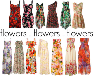 flowers everywhere by mcalexi featuring maxi dresses