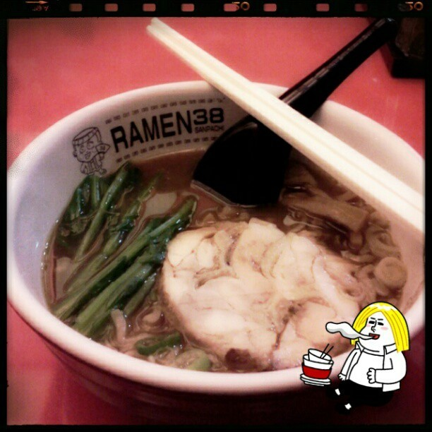 #ramen #dinner #instagram (Taken with Instagram)