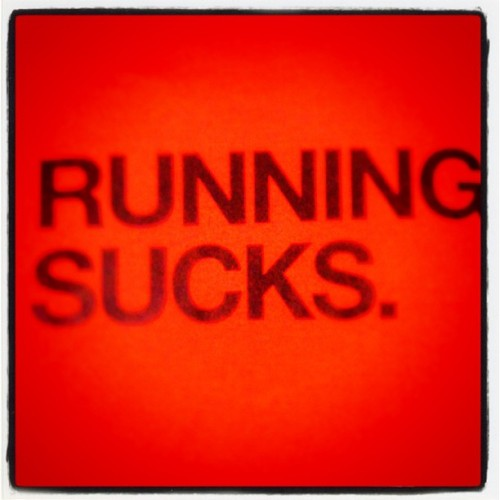 SUCKS #run #running #sucks #Nike  (Scattata con Instagram)