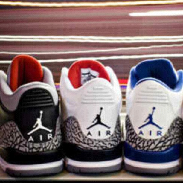 Been rockin J's since birth nigga! #jordan #kicks #sneakerhead  (Taken with Instagram)