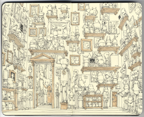 murmurandshout:  The museum of applied robotics, Mattias Adolfsson