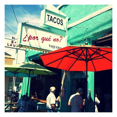 #porqueno #hawthorne #tacos #mexicanfood #margarita #summer #portland #hipster #food #instagood #sun #sunshine #hot #city #portlandia #chipsandsalsa #guacamole  (Taken with Instagram at ¿Por qué no? - Hawthorne)