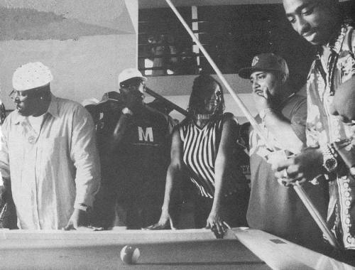 rosethatgrew:  Playing pool with E-40