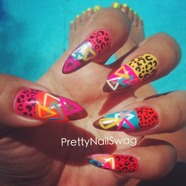 prettynailswag:  Poolside where I be #DearSummer (Taken with Instagram)