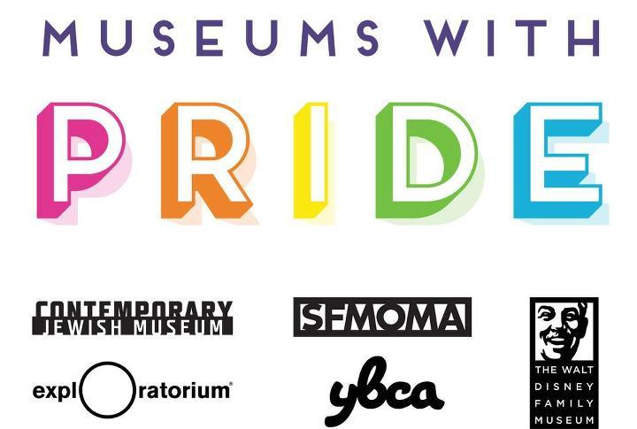 sfmoma:   Come one, come all to the San Francisco Pride Parade this Sunday! We'll be marching in a fabulous Museums with PRIDE contingent alongside our colleagues at YBCA, The Contemporary Jewish Museum, The Exploratorium, and The Walt Disney Family Museum. Give us a big friendly wave when we go by :)    Excited to experience my first PRIDE weekend by marching with some of the most proud people in the area :)