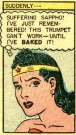 What's that now Wonder Woman, I'm having trouble following you there