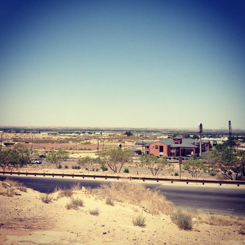 El Paso, you are the definition of desolate.  (Taken with Instagram)