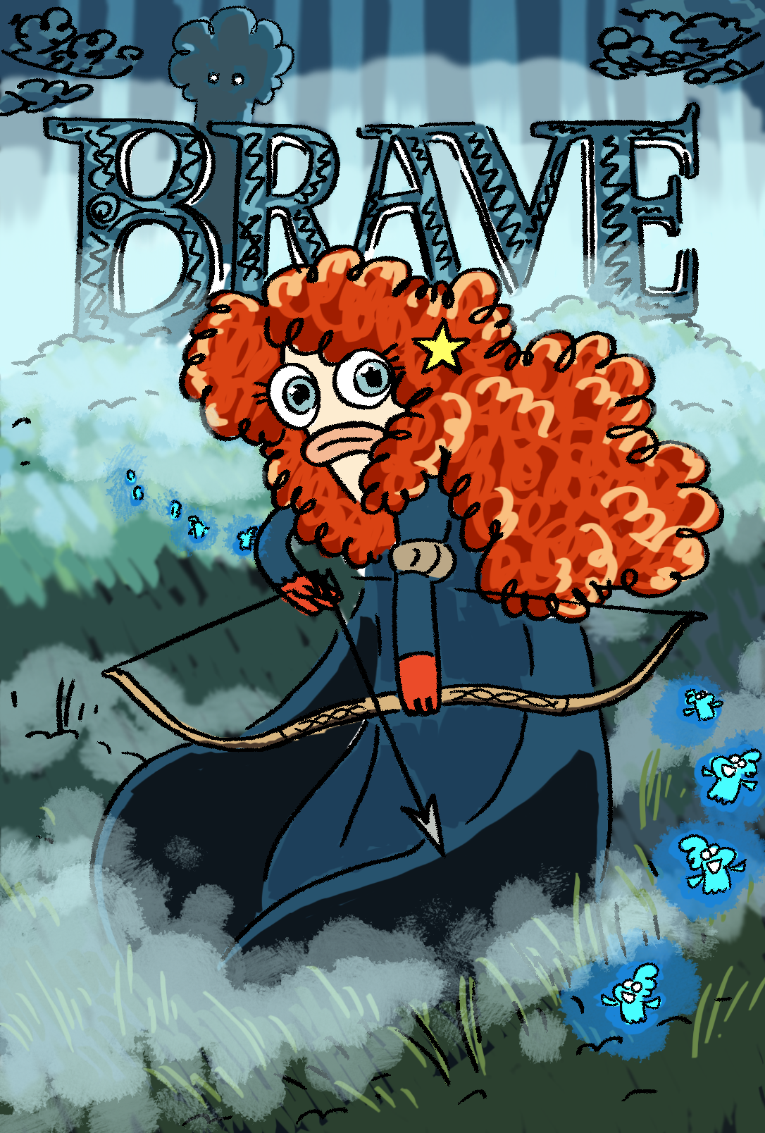 Bea Brave and decide your own fate!