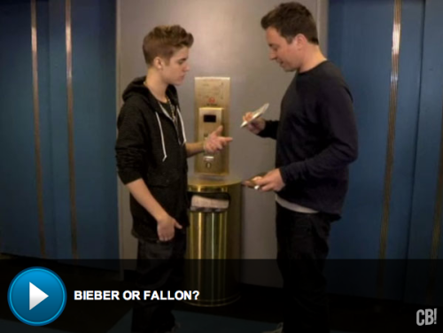 Bieber Battle: Justin Bieber and Jimmy Fallon duke it out…