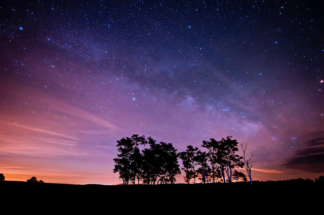 mysterioustraveller:  Milky Way @ Shenandoah National Park {Explore} by vtgohokies on Flickr.