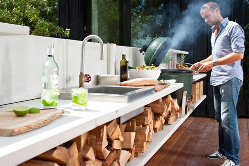 wishflowers:  Wwoo outdoor kitchen