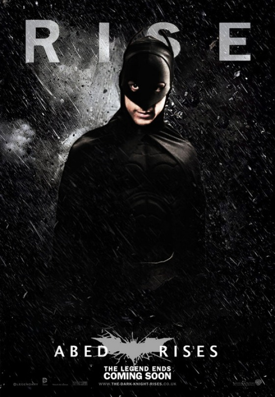 wired:  popculturebrain:  See a Community-Meets–Dark Knight Rises Poster | Vulture  All the best things.