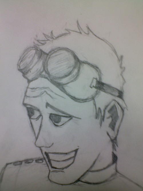 I am a fan of Dr. horrible's Sing-along-Blog  So as a Fan I tried to draw Dr. Horrible in cartoon form