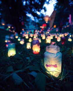 Party lanterns ~ Mason Jar lights