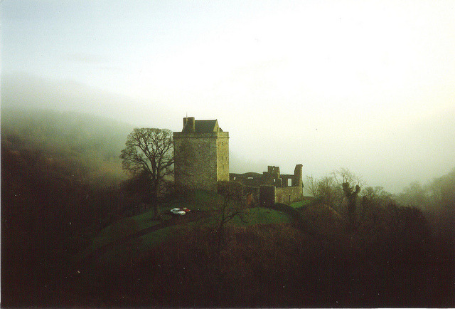 Castle Campbell by evilscotsman1238 on Flickr.