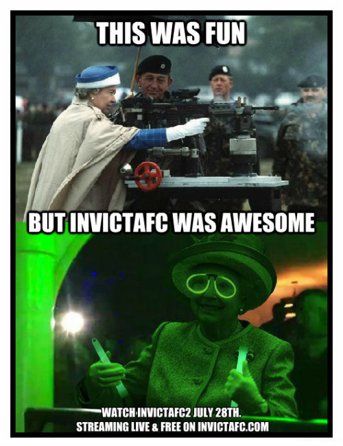 MEME: Queen Elizabeth Loves Invicta. She Really Does…