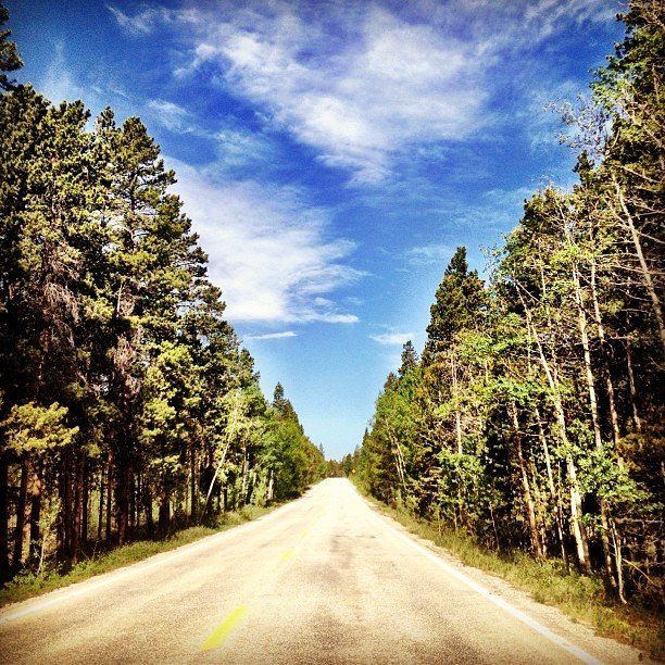 The road home. #colorado  (Taken with Instagram)