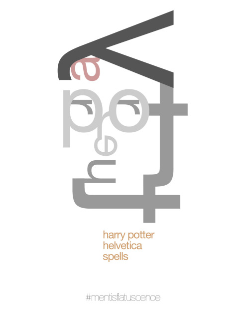 Helvetica Spells, Harry Potter