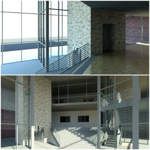 Renders done #architecture #revit  (Taken with Instagram)