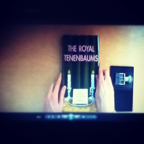 The Royal Tenenbaums #movietime  🎬🎥 (Taken with Instagram at My couch)