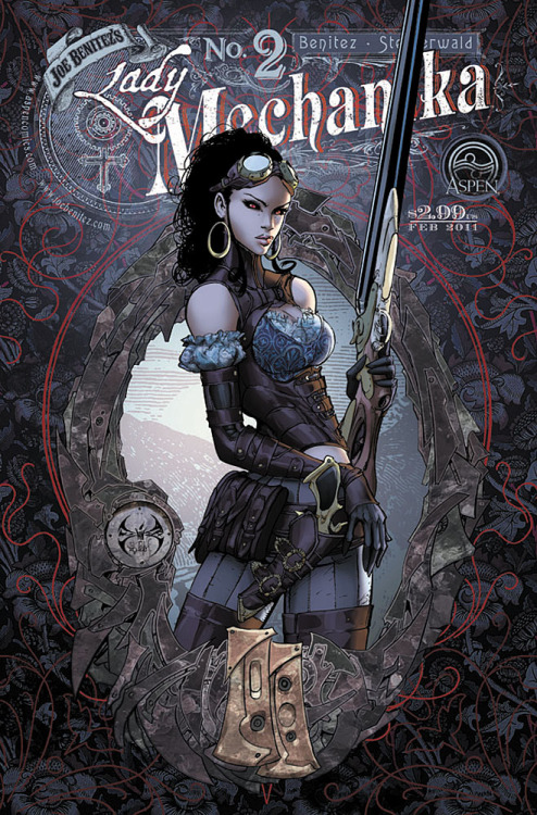 Lady Mechanika Gypsy by ~joebenitez The cover to Lady Mechanika No. 2, which is next on my reading list.