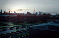 morning at railway