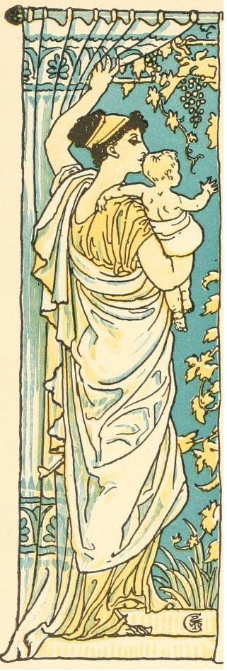 venusmilk:  Walter CraneIllustration for The baby's own Aesop (1908)