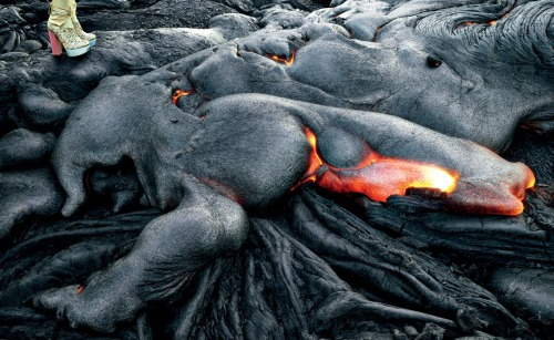 tmagazine:  We do not recommend wearing your Miu Mius near a volcanic lava flow.