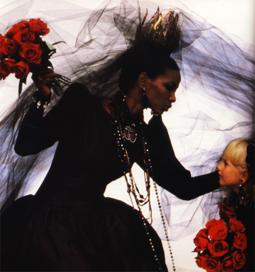 paribanou:  Brides in Vogue by Arthur Elgort, photography book printed in 1984.
