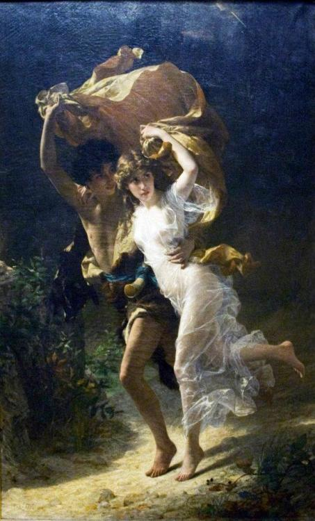 Pierre Auguste Cot, The Storm (1880)