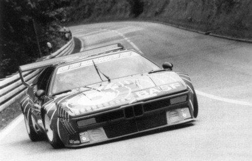 hakkalocken:  Mario Ketterer, BASF BMW M1.   BASF pj is so pretty