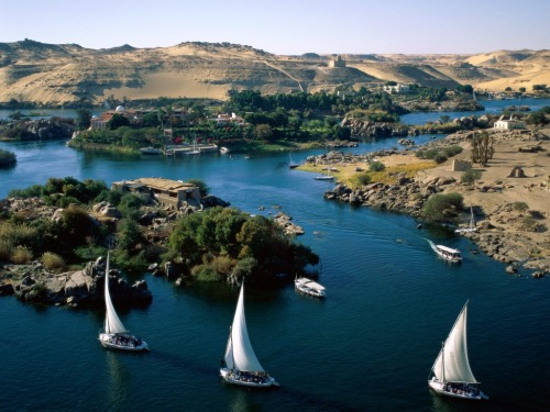 River Nile, Egypt Via. Follow Climate Adaptation.