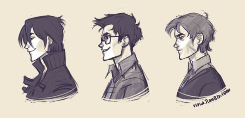 marauders profiles by *viria13