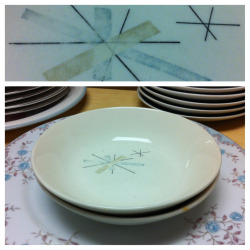 "Salem ""Hopscotch"" bowls.  #LeftBehind #ThriftBreak"