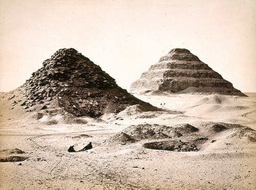 'The Pyramids of Sakkarah from the North East'. by National Galleries of Scotland Commons on Flickr.
