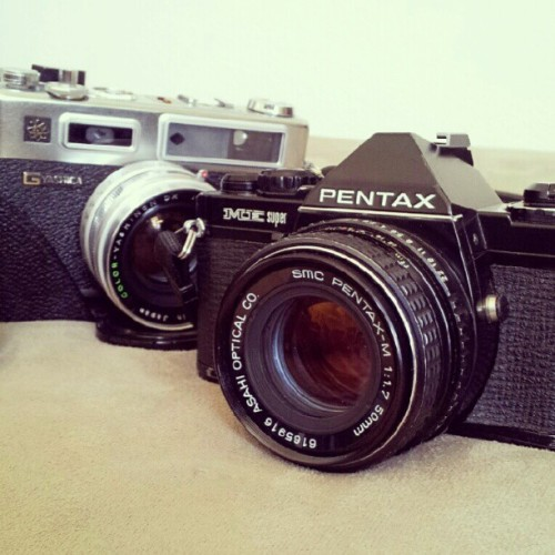 so glad to get my Pentax Super Me in BLACK