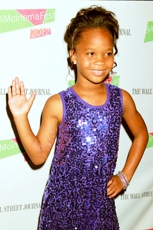 Quvenzhané Wallis @ The BAM Cinemafest