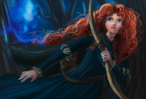 becausesometimesdreamsdocometrue:  Merida by levianee.