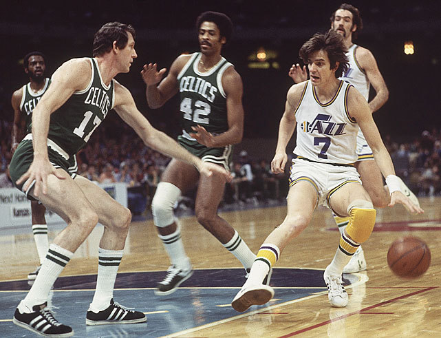"""Pistol"" Pete Maravich, one of the most exciting players in basketball history, would've turned 65 on Friday. The LSU graduate remains the all-time leading scorer in Division 1 history with 3,367 points, an average of 44 points per game. He was also a five-time NBA all-star and a member of the league's 50th anniversary team. (James Drake/SI) SI VAULT: Pete Maravich discusses life as college hoops' top player (12.1.69)"
