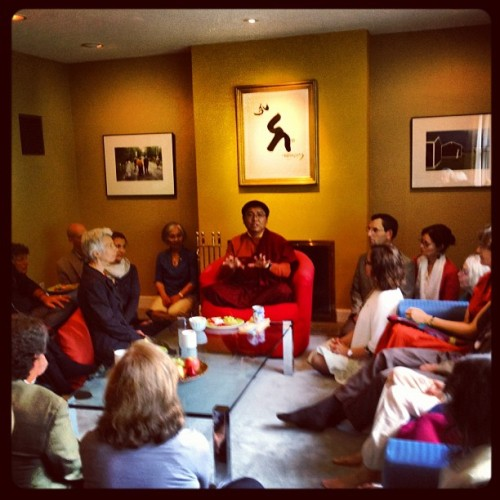Tsoknyi Rinpoche on Halifax #rinpoche #buddhism #Tibetan #halifax  #novascotia #teacher #instagram  #instagramhub  (Taken with Instagram)