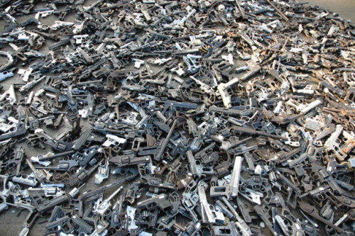 Artist Melts 1,527 Guns to Make Shovels for Tree Planting!  The city of Culiacán, in western Mexico has the highest rate of gun deaths in the country. After speaking with family members of victims of drug crimes in the city, artist Pedro Reyes collected 1,527 guns for the project — Palas por Pistolas — had them melted down and transformed into 1,527 shovel heads that are now being used to plant trees in the community.  inhabitat, 05.11.10.